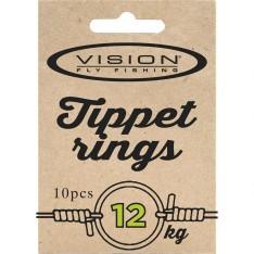 VISION TIPPET RINGS, Small 12kg. test