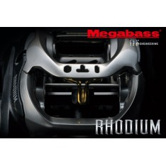 MOULINET CASTING MEGABASS RHODIUM