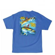 HOT TUNA TEE-SHIRT GUY HARVEY - OCEAN BLUE