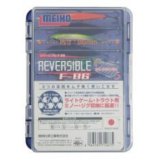 BOITE MEIHO REVERSIBLE F 86 (BLUE-CLEAR)