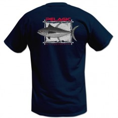 TEE-SHIRT PELAGIC OCP TRIBAL AHI (1911) - NAVY