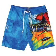 SHORT DE BAIN GUY HARVEY MAD TROPIX