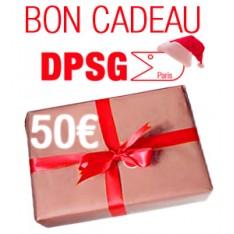 BON CADEAU D'UNE VALEUR DE 50€