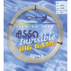 ASSO FLUOROCARBONE INVISIBLE BIG GAME 20 M
