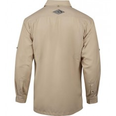CHEMISE MANCHES LONGUES SEACLIFF HOOK & TACKLE : PROTECTION SOLAIRE (ANTI-UV) - RESPIRANTE - ANTI TACHES- ANTI DECHIRURES