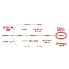 TEASER DE TRAINE «SPREAD BAR» MOLD CRAFT