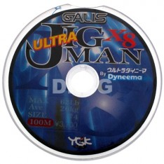 TRESSE YGK JIG MAN X 8