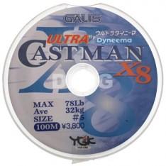 TRESSE YGK CAST MAN X8 (200, 300, 1200 mètres)