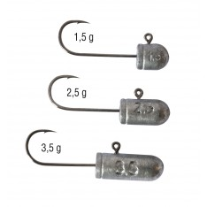 TETES PLOMBEES JIG POWER BOSKET - SERIE FINESS (1,5 - 2,5 - 3,5 G)