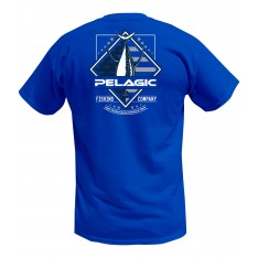 TEE-SHIRT PELAGIC  PATRIOT TUNA TEE (ROYAL)