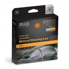 METERED SHOOTING LINE RIO CONNECTCORE (TROUT SPEY SERIES)