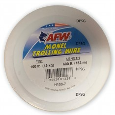 MONEL TROLLING WIRE AFW (FIL D'ACIER MONEL AMERICAN FISHING WIRE)