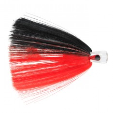 C&H ALIEN LURE JUPE FIBRES NYLON - 16 BLACK/RED