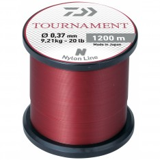 NYLON DAIWA TOURNAMENT 1200 M - ROUGE