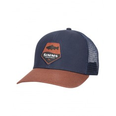 Trout Patch Trucker Rusty Red